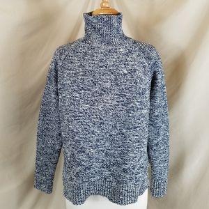 Madewell Navy & White Sweater